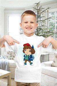 Camiseta Infantil Stranger Things 5