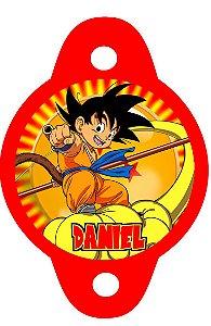Tag para canudinho Dragon Ball Z