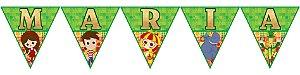 Bandeirinha Personalizada Sítio do Pica-Pau Amarelo