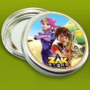 Embalagem com 20 adesivos Zak Storm