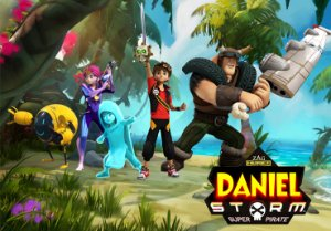 Painel TNT Zak Storm 3