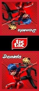 Adesivo personalizado para TicTac Miraculous: As Aventuras de Ladybug