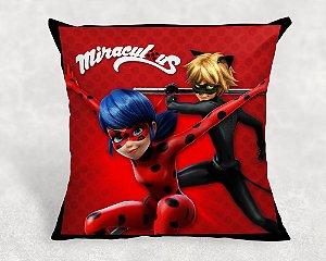 Almofada Personalizada para festa Miraculous: As Aventuras de Ladybug 1