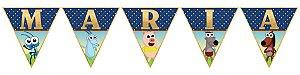 Bandeirinha Personalizada  Bob Zoom