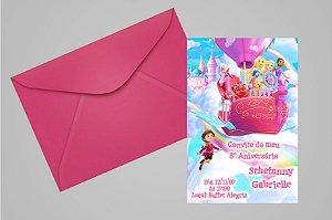 Convite 10x15 Barbie Dreamtopia 003