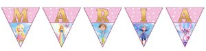 Bandeirinha Personalizada Barbie Dreamtopia