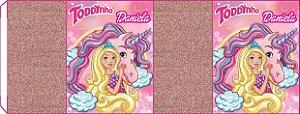 Embalagem com 2 rotulos Toddynho Barbie Dreamtopia
