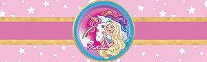 Rótulo água Barbie Dreamtopia