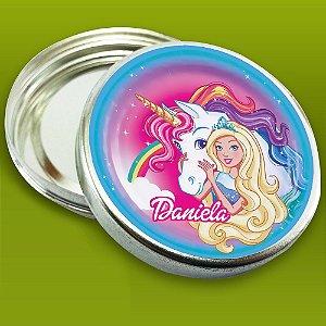 Embalagem com 20 adesivos Barbie Dreamtopia