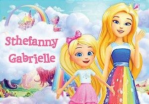 Painel TNT Barbie Dreamtopia