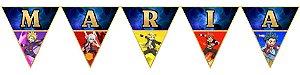 Bandeirinha Personalizada Beyblade Burst