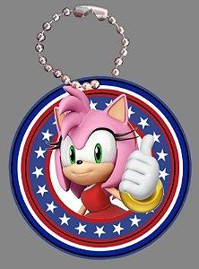 Tag com Correntinha 5 x 5 cm Sonic
