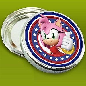 Embalagem com 20 adesivos Sonic