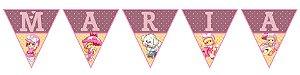 Bandeirinha Personalizada Penelope Charminho