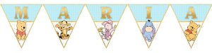 Bandeirinha Personalizada Baby Pooh
