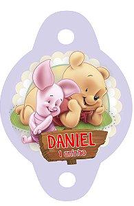 Tag para canudinho Baby Pooh