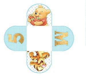 Caixeta para Doces personalizada Baby Pooh