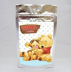 Adesivo para Saco Metalizado Baby Pooh