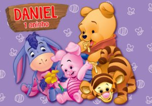 Painel TNT Baby Pooh 002