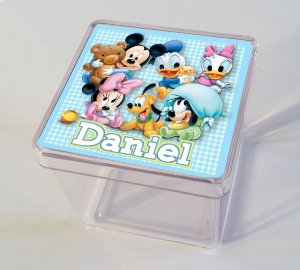 Adesivo caixinha acrílica Baby Disney