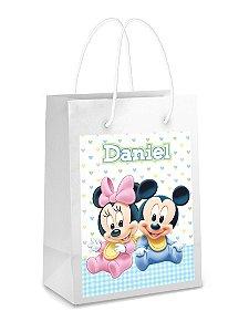Adesivo para sacolinha perdonalizado Baby Disney