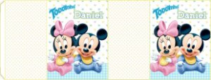 Embalagem com 2 rotulos Toddynho Baby Disney