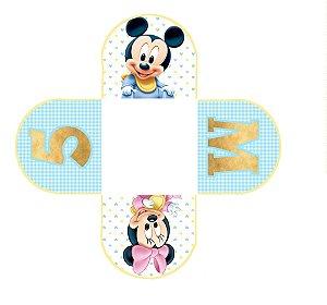 Caixeta para Doces personalizada Baby Disney