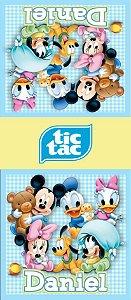 Adesivo personalizado para TicTac Baby Disney