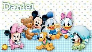 Adesivo personalizado para Bolinha de Sabão Baby Disney