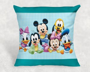 Almofada Personalizada para festa Baby Disney