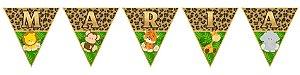Bandeirinha Personalizada Safari Baby