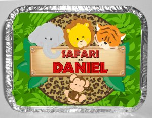 Marmitinha personalizada Safari Baby