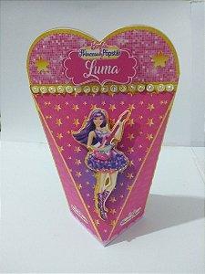 Caixa Coração Barbie Pop Star