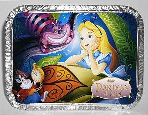 Marmitinha personalizada Alice no País das Maravilhas