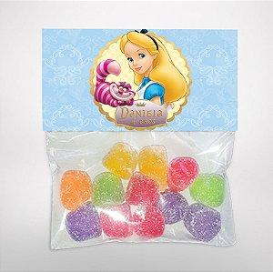 Solapa ou lapela personalizada Alice no País das Maravilhas