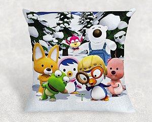 Almofada Personalizada para festa Pororo: O Pequeno Pinguim 006