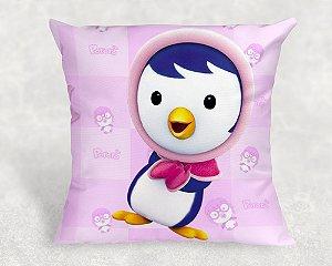 Almofada Personalizada para festa Pororo: O Pequeno Pinguim 004