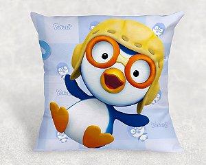 Almofada Personalizada para festa Pororo: O Pequeno Pinguim 001