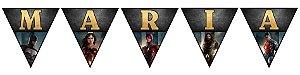 Bandeirinha Personalizada Liga da Justiça