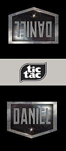 Adesivo personalizado para TicTac Liga da Justiça
