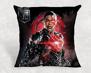 Almofada Personalizada para festa Liga da Justiça Cyborg 005