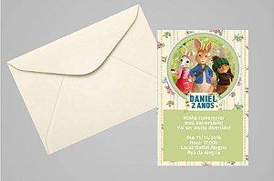 Convite 10x15 Peter Rabbit