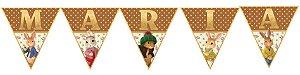 Bandeirinha Personalizada Peter Rabbit