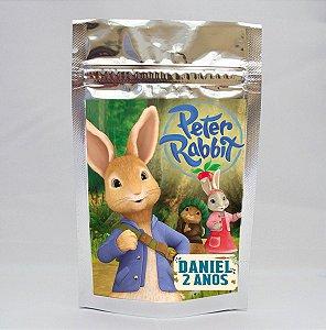 Adesivo para Saco Metalizado Peter Rabbit