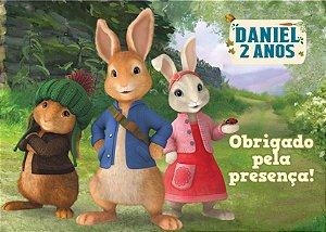 Cartão de Agradecimento Peter Rabbit