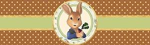 Rótulo água Peter Rabbit