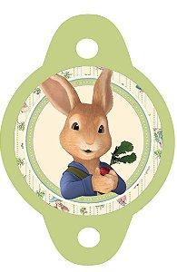 Tag para canudinho Peter Rabbit