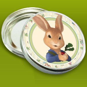 Embalagem com 20 adesivos Peter Rabbit