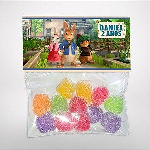 Solapa ou lapela personalizada Peter Rabbit