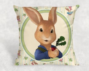 Almofada Personalizada para festa Peter Rabbit 001